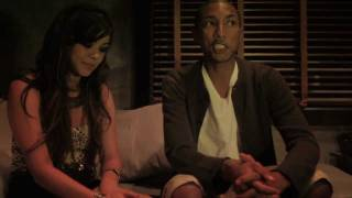 Alyssa & Pharrell Interview
