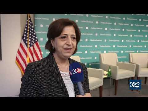 Sinam Mohamad on Kurdish representation in post-war Syria