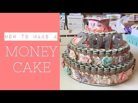Money Cake Tutorial