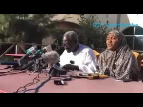 Press Conference On Jammeh's State Of Emergency Declaration By The Coalition