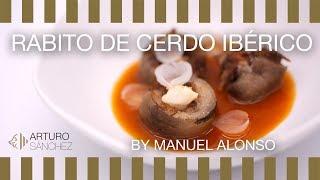 Rabito de cerdo ibérico con salsa de callos by Manuel Alonso
