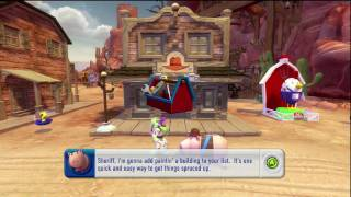 Toy Story 3 Video Game - Woody's Roundup - Part 1