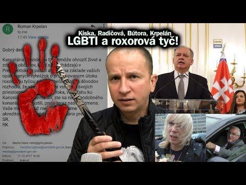 Kiska, Radičová, Bútora, Krpelán, LGBTI a roxorová tyč. Daňo má doživotný zákaz