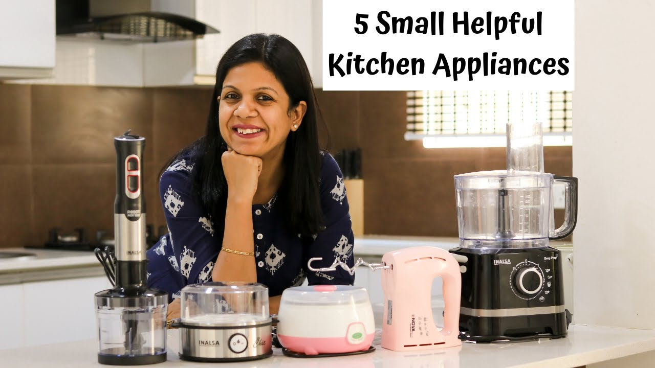 5 Small Helpful Kitchen Appliances | Easy Cooking Gadgets