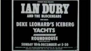 Ian Dury & The Blockheads - Clevor Trever - Roundhouse 77
