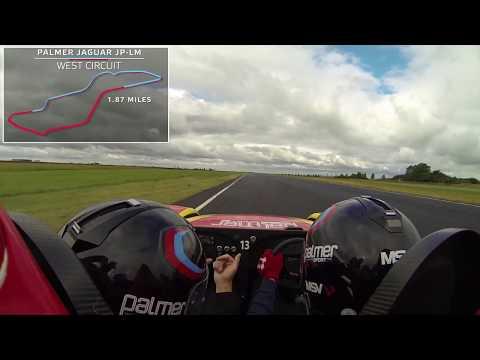 Palmer Jaguar JP-LM On-board Lap - PalmerSport 2015 at Bedford Autodrome