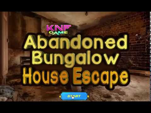 Knf abandoned bungalow house escape walkthrough youtube for Minimalistic house escape 5 walkthrough
