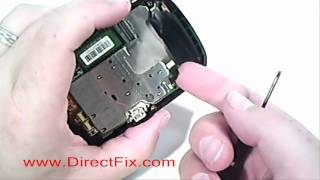 Palm Pre Teardown & Screen Replacement Video Directions by DirectFix.com