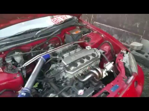 D16 turbo del sol first start by anthony antonio