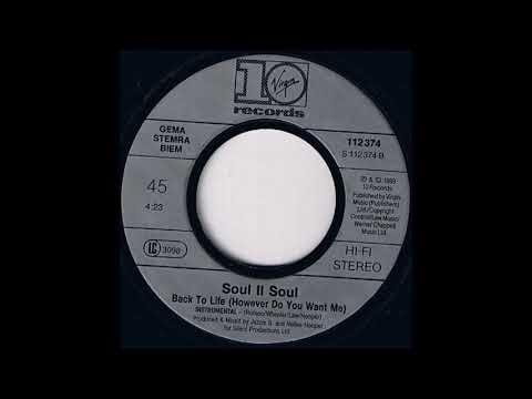 soul ii soul back to life  (instrumental)