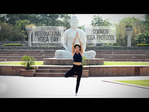 International Yoga Day: Common Yoga Protocol