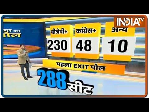 IndiaTV Exit Poll Result: Maharashtra और Haryana में भारी बहुमत से BJP के आने के संकेत