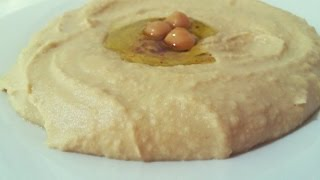 How to make a hummas dip? Simple recipe for delicious hummus