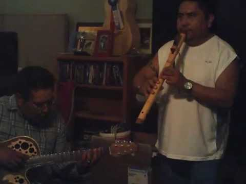 Improv guitar and Native style flute