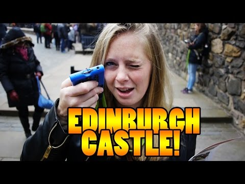 EDINBURGH CASTLE TOUR! - Travel vlog 109 [Edinburgh]