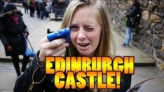 EDINBURGH CASTLE TOUR! - Travel vlog 109 [Edinburgh]