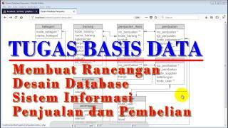 Tugas Basis Data - Membuat Desain Database Sistem Informasi Penjualan Pembelian