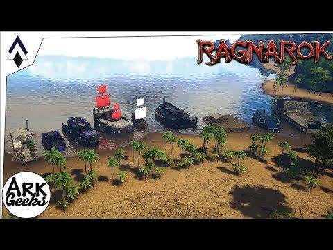 Amazing Boat Builds! : Ep35 : Geeks Ragnarok Server : ARK Gameplay