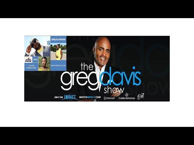 Rob J & J Factor tapping The Greg Davis TV Show