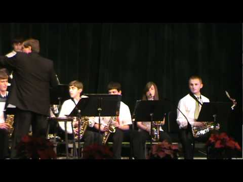Camden Catholic High School Christmas Concert 2010 - Jazz Band - Pickin up the Pieces