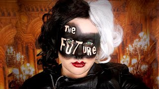 "CRUELLA ""THE FUTURE"" MAKEUP TUTORIAL!"