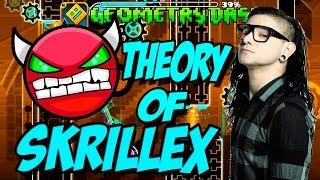 GEOMETRY DASH - (Medium Demon) - 38 - Theory of Skrillex by Noobas