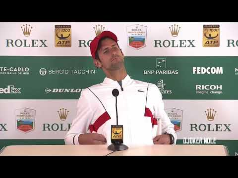 "Novak Djokovic ""Vajda knows me better than any coach"" - MC 2018 (HD)"
