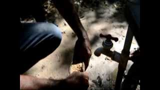 Extracción de oro Artesanal en Somotillo y Villa Nueva