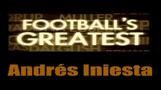 Andres Iniesta - Footballs Greatest - Best Players in the World ✔