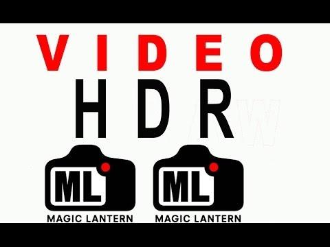 Video HDR Magic Lantern. Como hacerlo. Doblejotafoto