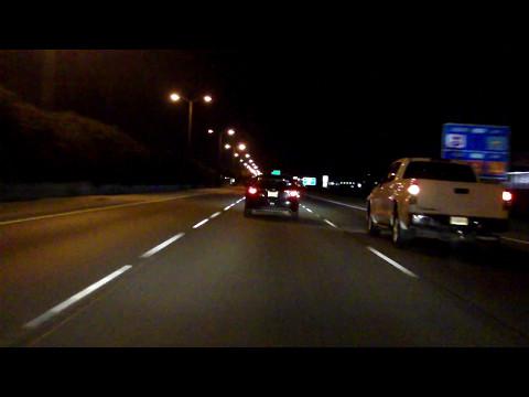New Orleans Freeway Tour inbound/eastbound (Night)