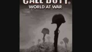 Call of Duty World At War Russian Theme Guitar Version