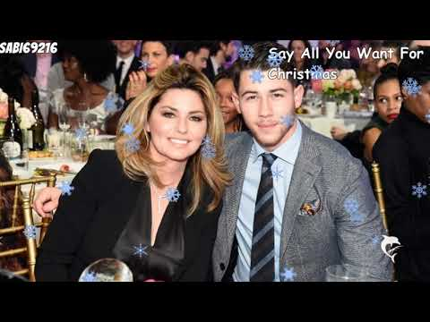 Nick Jonas & Shania Twain - Say All You Want For Christmas Lyrics + deutsche übersetzung