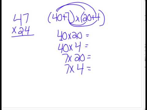 Expanded Form Multiplication Problem Youtube