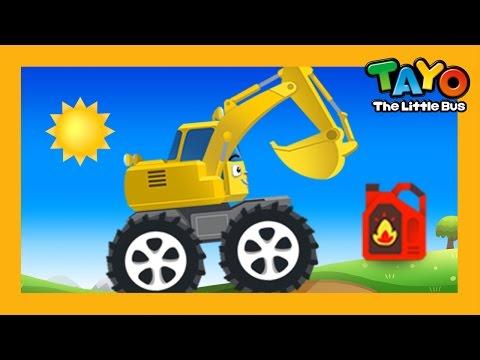 Poco các máy xúc l Trò chơi sửa chữa bảo dưỡng xe #2 l Tayo xe bus nhỏ