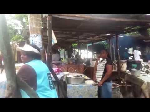 raw Jamaica sea food market sessions