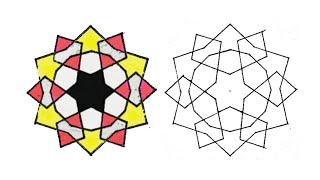 رسم وحدة زخرفية لا نهائية سهلة جدا زخارف اسلامية هندسية زخرفة سهلة جدا رسم سهل Youtube