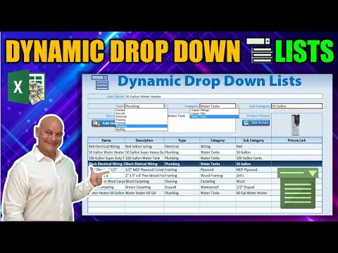 How To Create Dynamic Drop Down Lists In Excel