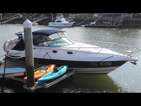 Sunrunner 3700 Sports Cruiser SOLD at Peter Hansen Yacht Brokers Raby Bay, Brisbane