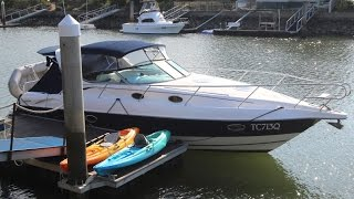 Sunrunner 3700 Sports Cruiser SOLD at Peter Hansen Yacht Brokers Raby Bay, Brisbane