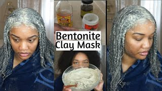 BENTONITE Clay Mask for Natural hair