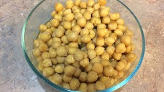 HOW TO: Cook Chickpeas in Pressure Cooker (Garbanzo Beans)