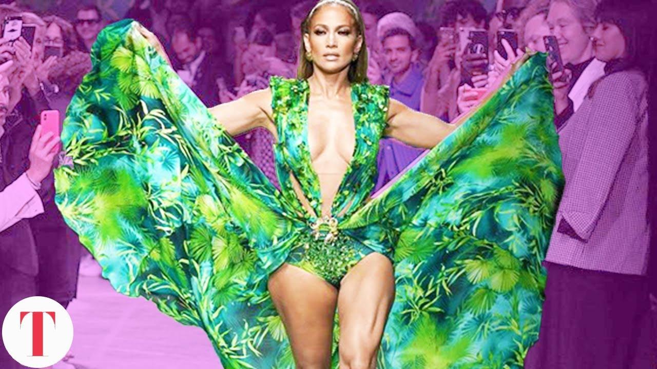 How J.Lo's Iconic Green Dress Broke The Internet