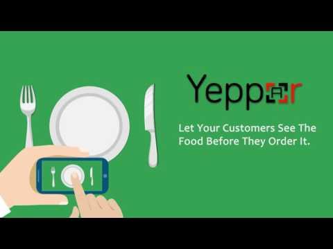 Augmented Reality For Restaurant | Augmented Menu Cards | Yeppar