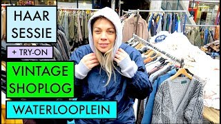 TWEE SHOPLOGS + TRY-ON EN HAAR INSPIRATIE