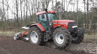 Power from Doncaster! Ploughing with Case IH