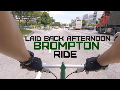20180203   Laid Back Afternoon Brompton Ride
