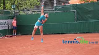 Bianca Andreescu - 2018 French Open qualifying