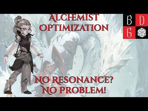 Min-Maxing For Fun And Profit XXII- Alchemist Optimization: No Resonance? No Problem!