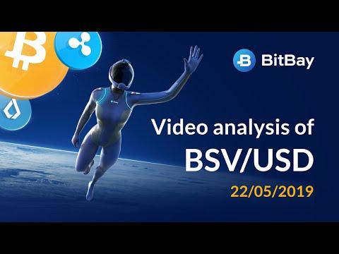 Bitcoin SV Price Technical Analysis BSV/USD 22/05/2019 - BitBay